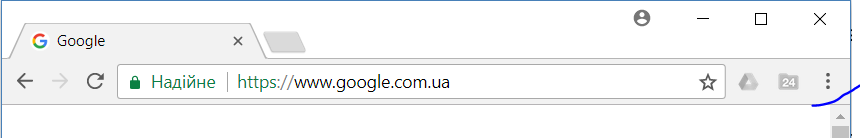 Налаштування і керування Google Chrome (Customize and control Google Chrome)